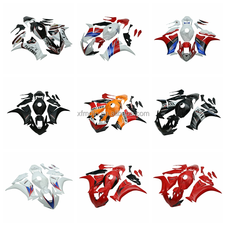 ABS Plastic Fairing Bodywork Kit Set For Honda CBR 1000RR CBR1000 2012-2014