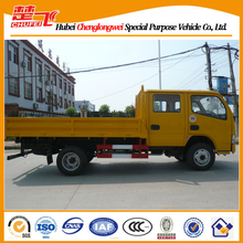 Dongfeng jinba double row cabin light truck 2 ton small sand tipper