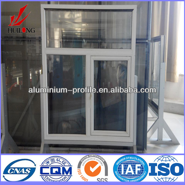 High quality 6063-T5 customized modern aluminum entry door