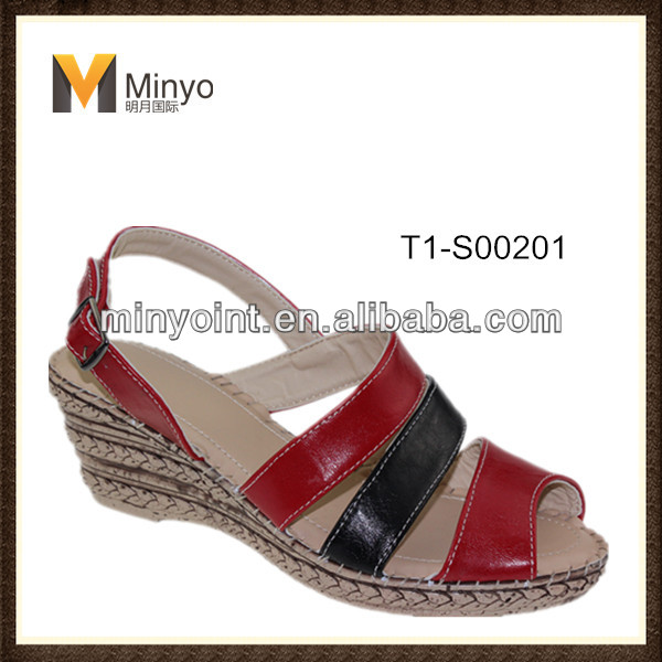 Minyo Wholesale Popular Style Fashion New Model Woman Sandal 2014 for lady