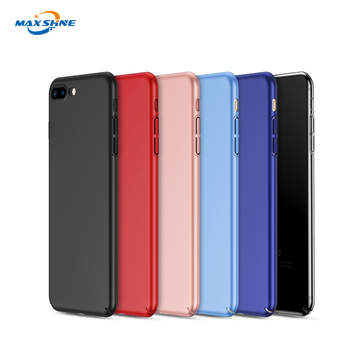 Perfect fit hard pc matte material ultrathin phone case for iphone 7/8 plus