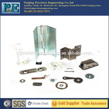 Custom made steel alloy furniture hinge