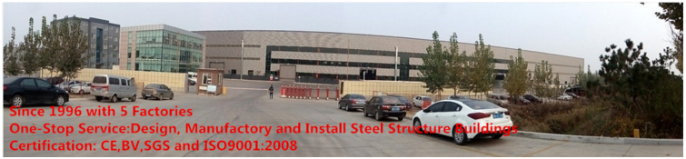 export to Afria/America steel structure buidling/warehouse by famous steel structure XGZ Group with 5 workshops