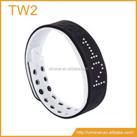 Smart waterproof pedometer with mobile Android app silicone smart bluetooth bracelet smart watch bracelet ITEM TW2