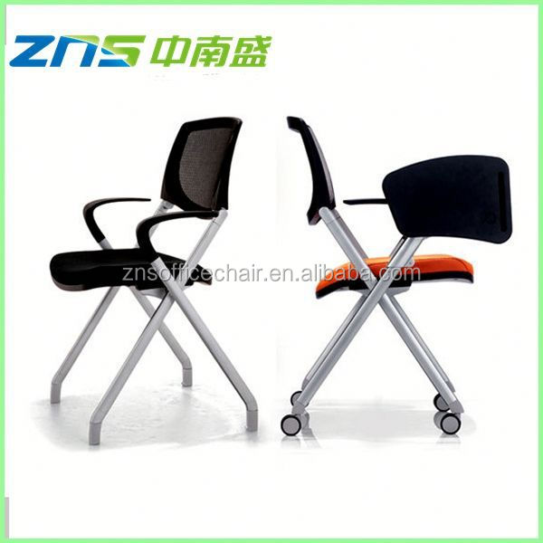893 fabric seat mesh back high quality student tablet and chair