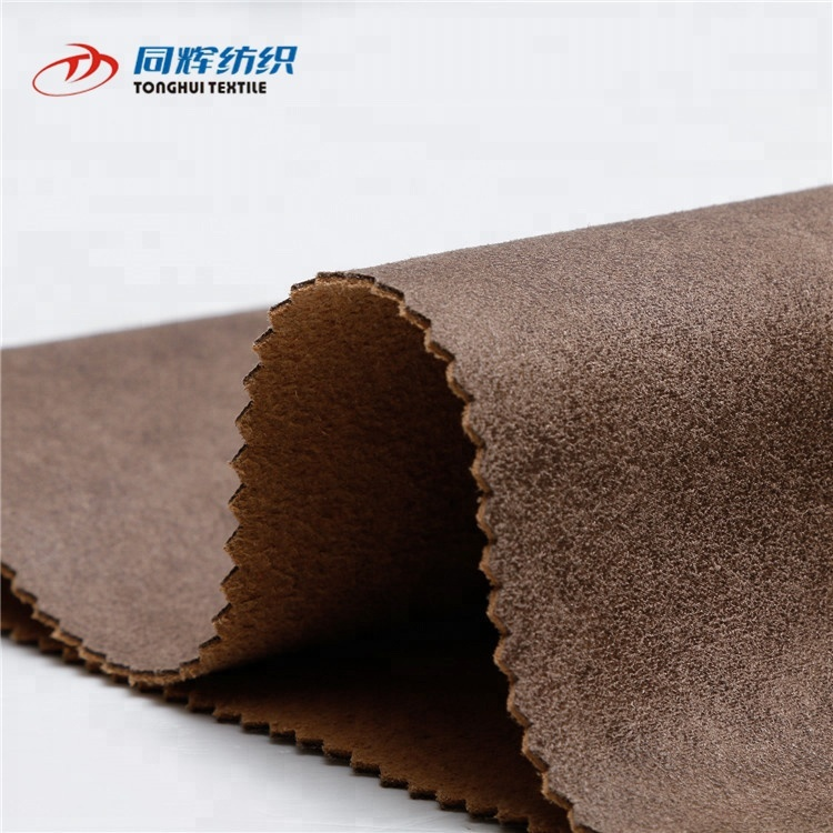 China Wholesale Suede Sofa Upholstery Fabric