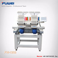 FUWEI one year warranty 2 heads computerized cap embroidery machine with high speed for cap embroidery