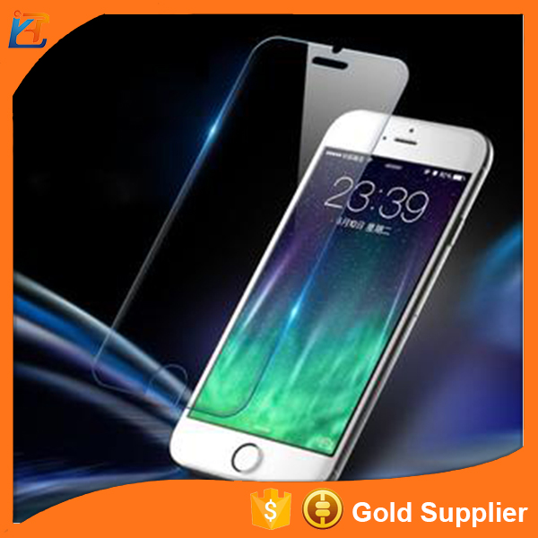 High quality mobile screen transparent glass cover for iphone5 screen protector
