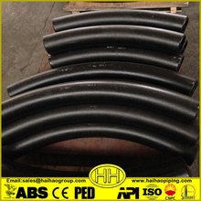 3d/5d asme b16.49 carbon steel pipe bends