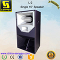 L-2 3 Way Full Range 15 inch Model Box Sound System Speaker