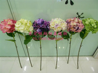 artificial wedding flower artificial hydrangea flower artificial flower making home decoration pieces