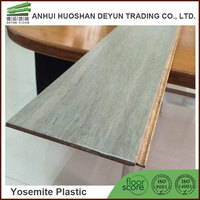 Solid Stone Grey Strand Woven 135mm Bamboo Flooring