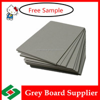 recycled board paper 1500gsm cardboard 2.4mm grey board