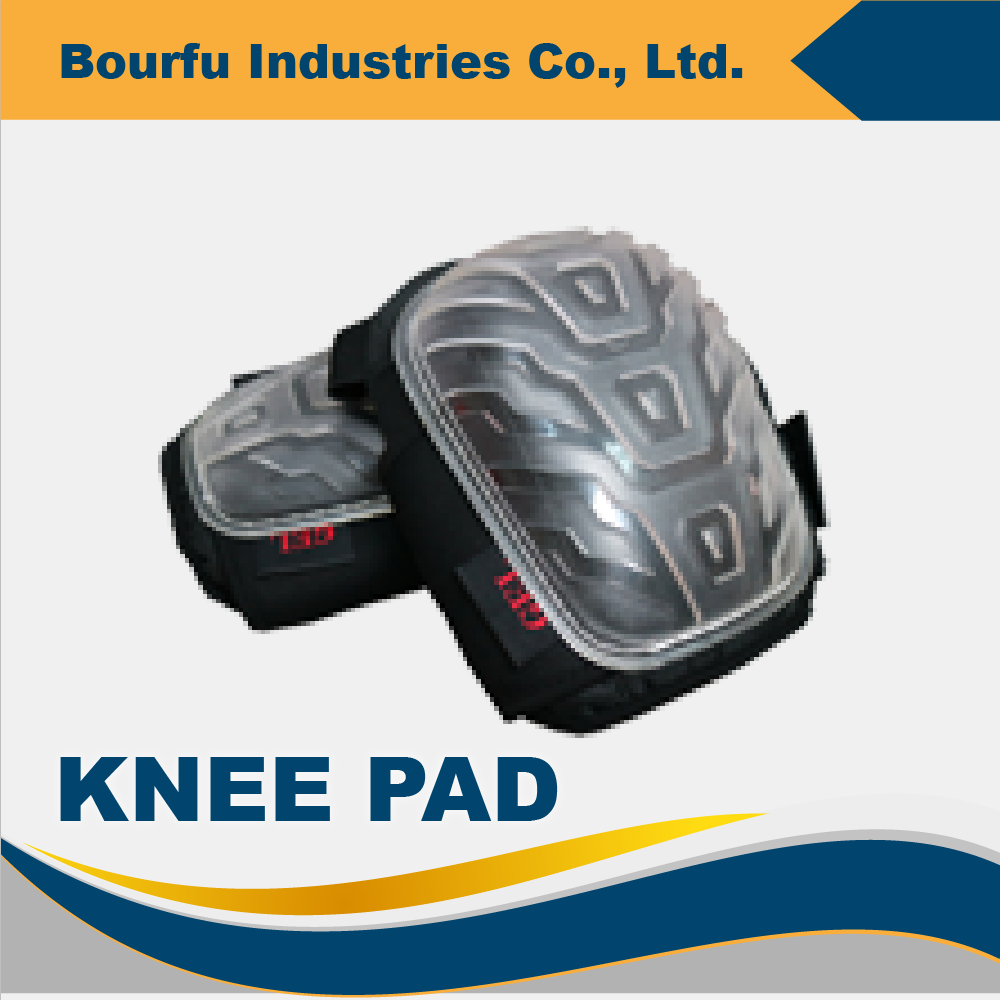 Heavy Duty Knee Support Pads With Rubber Cap