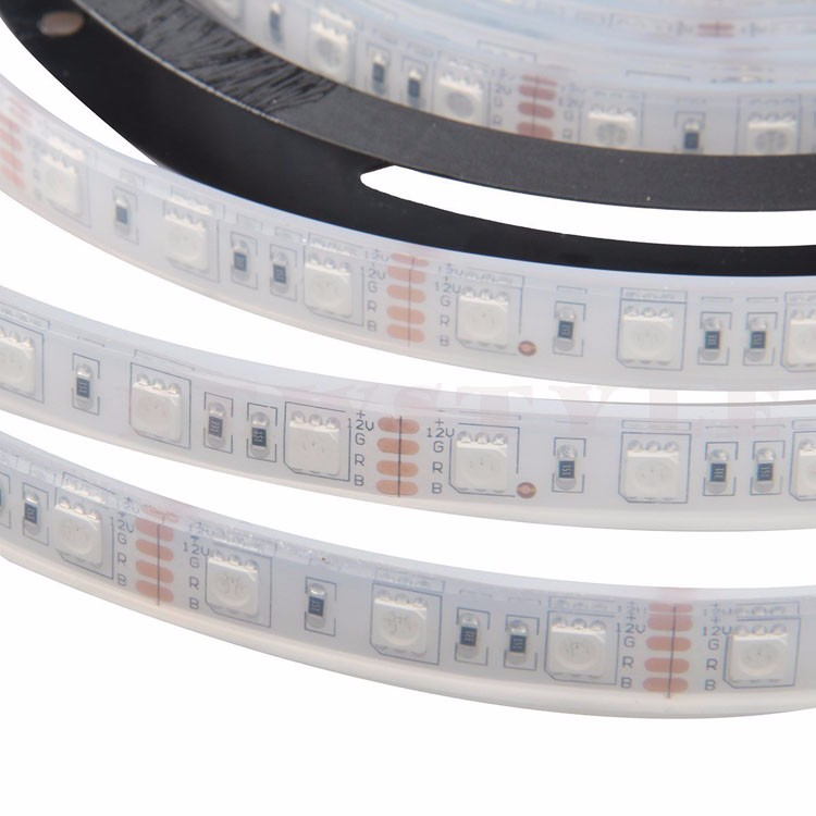 IP68 Waterproof <strong>RGB</strong> Color Changing Lights Strip 16.4ft 5050 SMD 300 Leds Submersible Underwater LED Flexible Strip Light