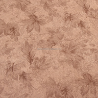 polyester weft knit bronze suede sherpa laminated garment fabric