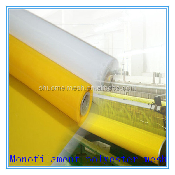 DPP monofilament plain woven high tension polyester screen printing mesh
