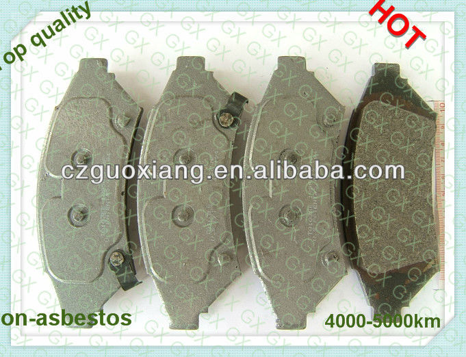 Auto parts brake pads D1000 for Pontiac Grand Prix 2004