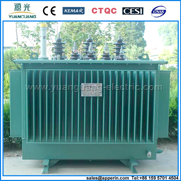 8KV 500KVA Distribution and power oil immersed transformer