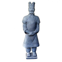 Chinese Clay Art Model Life Size Statue of Qin Terra cotta Warriors