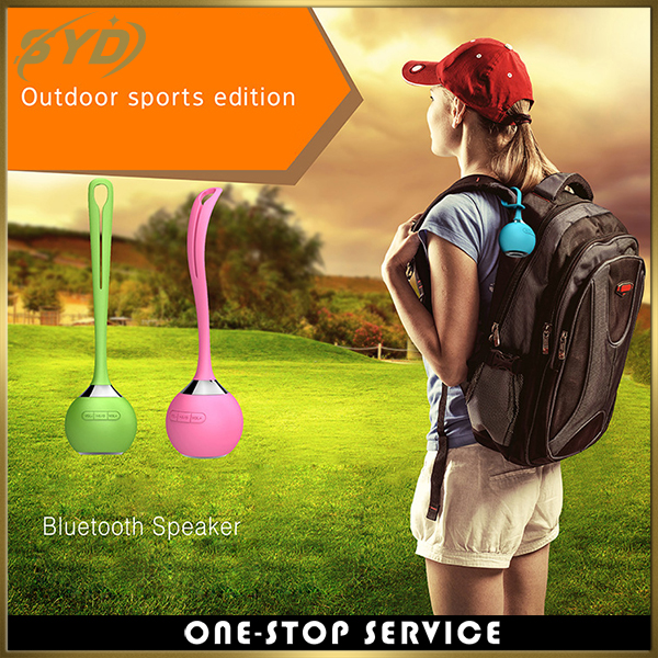 Outdoor sports waterproof wireless speaker TF card portable speaker