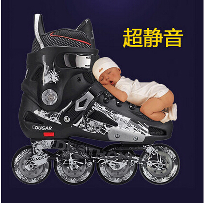 Cougar adult and younger inline slalom skate