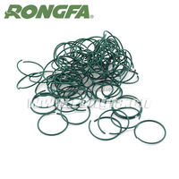 hot sale soft greenhouse plastic round wire clips