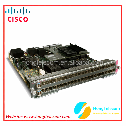 Original Cisco WS-X6748-GE-TX Cat6500 48-port 10/100/1000 GE Mod: fabric enabled RJ-45