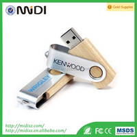 Best Price wooden USB Flash Drive with real capacity custom logo wooden USB Flash Made in Shenzhen