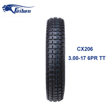Chinese Motorcycle Tyre Motocross Off Road Tire 3.00-17