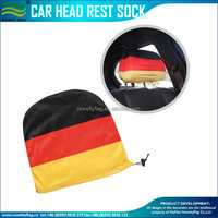 Car seat head rest cover