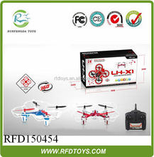 Latest LH-X1 6 axis quadcopter flalsh light 2.4GHZ control 360 eversion,with gyro 4CH rc quadcopter