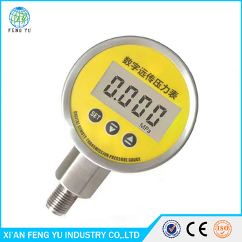 Electronic LCD Digital Indicator pressure gauge