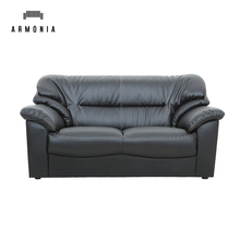 Home <strong>furniture</strong> 2 seater chestfiled recliner leather sofa