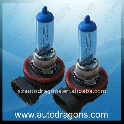 Crystal white H8 Plasma halogen light for fog light