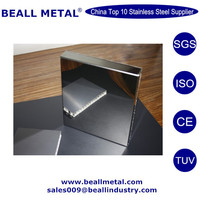 Inox 201/304/316L colored decorative anti-fingerprint coating stainless steel vibration sheet