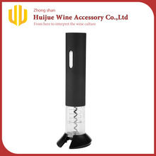 Batteries Operated Plastic Bottle Opener Electric Wine Opener With Foil Cutter