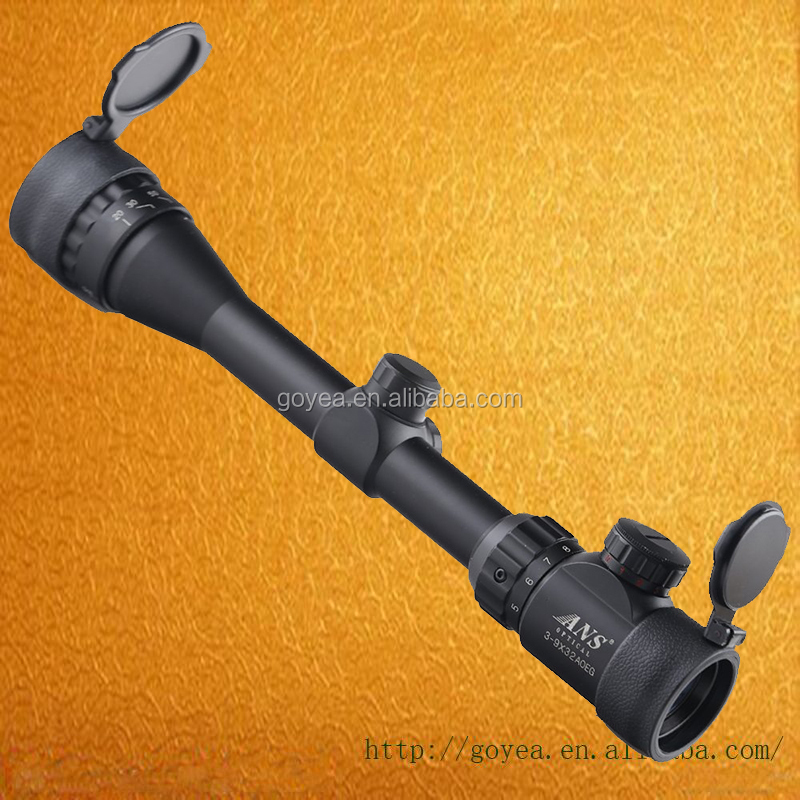 3-9X32AOEG Adjustable Hunting Green Red Dot Illuminated Tactical Riflescope Reticle Optical Sight Scope For Hunting Riflescopes