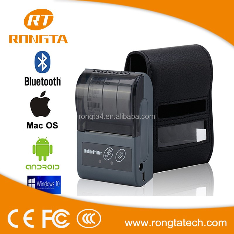 RPP-02N Pockect Mini Bluetooth Serial Port Mobile Printer Android