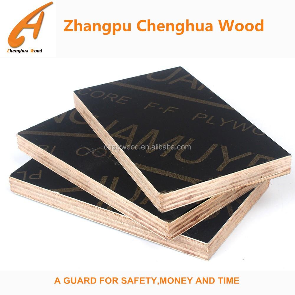 Eucalyptus core shutterply,used plywood sheets,phenolic film face plywood
