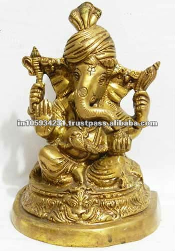 Handicraft Brass Lord Ganesha Idol for Sale