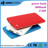 dual usb ultrathin power bank 5000 mah