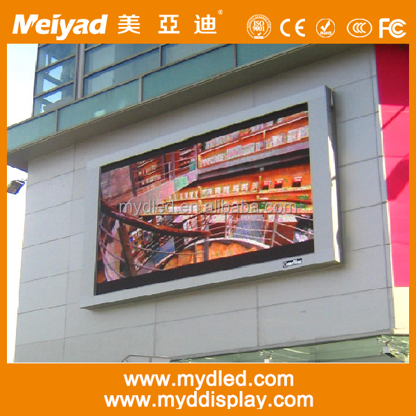 P10 SMD3535 full color outdoor led advertising screen price real estate agent window led display
