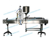 Automatic Two Nozzles Bottle Filling Machine for Cream ( FLC-200A )