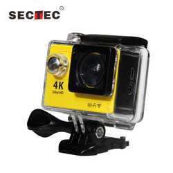 Support 30 Meters Depth Diving Full HD CCTV Security 1080P Night Vision Sport 4K Ultra Wifi Action Camera