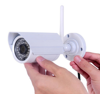 CCTV HD 960P 1.3 Megapixel IP Camera CMOS 40M IR Waterproof wi fi camera 4-9mm varifocal lens