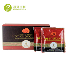Custom Logo Herbal Instant Gano ExtractT Additives Hot Chocolate Coffee