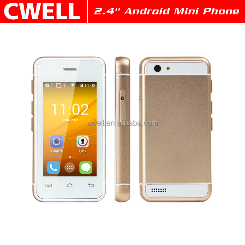 2.4 Inch Touch Screen Android 5.1 Small Size Mini Android Phone Mini Smart Phone