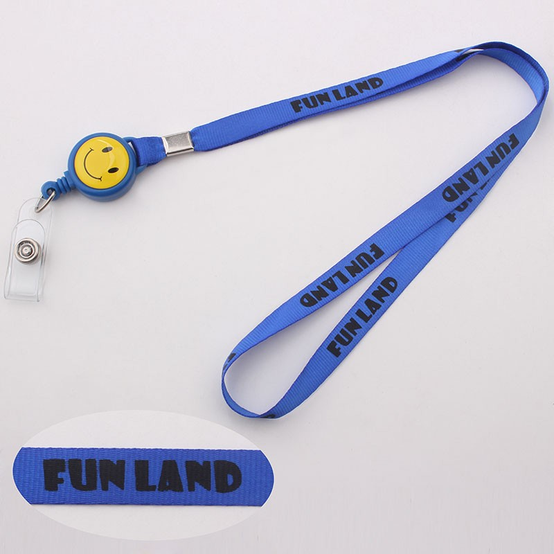 Colorful personalized logo cord cheap screen printing neck lanyard for promotional gift