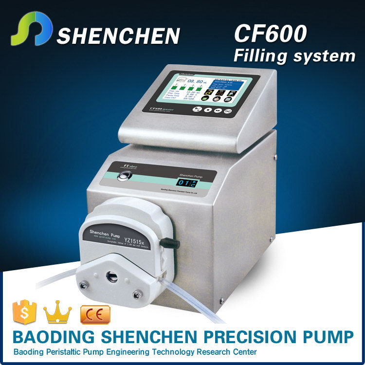 Color LCD displaying, touch screen and keypad,Stainless steel shell,Intelligent dispensing peristaltic pump